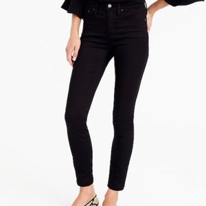 BNWOT J. Crew Lookout High Rise Crop in Black